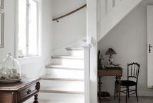 Faház előtér, lépcső / Felső faház előszobájához, lépcsőjéhez inspirációk
