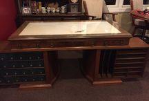 Wooton Antique 1800s era desk