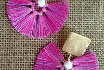 Earrings — Aretes / Here you will find different designs of earrings made by Karina Saavedra from Neiva - Huila