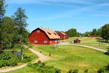 barns / by jesma archibald   (nutmegs)