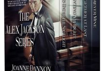 My books / Book covers for romance author, Joanne Dannon