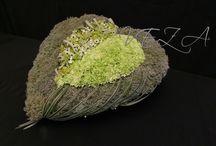"""Floral design / Floral art """"Hart in Hart"""""""