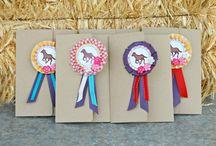 Pferdeparty / Party-Motto, Kindergeburtstag, Tischdeko, Party-Girlanden, Spiel-Ideen, Mitgebsel, Torten- und Kuchenrezepte, Party-Essen, Einladungen