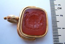 Fob seals / Antique wax fob seal