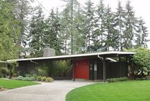 home / exterior / Midcentury modern exteriors. / by Kandace Brigleb