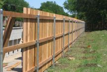 DYI Privacy fences