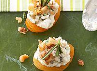 appetizers/snacks / by Stephanie Pikora
