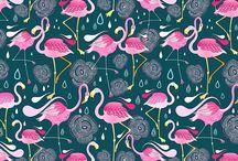 Pattern in Flamingo