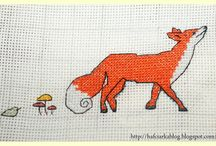 Animal tales -  stitch cross