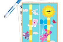 Groeimeters voor kleuters. dowload / Preschool growth chard printable / Groeimeters voor kleuters. dowload / Preschool growth chard printable / Téléchargement de la courbe de croissance / Wachstum Diagramm Download / rast grafikon download