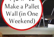 DIY Wood Pallet Ideas / DIY Ideas with wood pallets