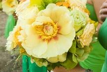 Weddings - Green/Yellow