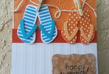 Cards - Flip Flops / by Gayla O'Dell