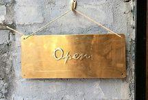 distillery signage