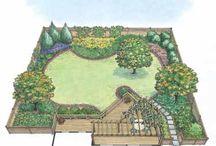 Plot plan drawing