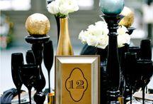Wedding - Black & Gold Theme