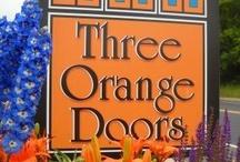 Three Orange Doors / Three Orange Doors, a unique boutique in Madison, WI.