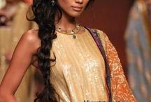 Indian hairdo
