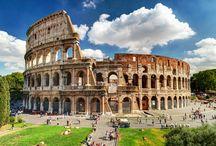 Italië - Rome / Wie heeft een bezoek Rome niet op zijn verlanglijstje staan? Vanaf camping Fabulous bij Rome ben je binnen 20 minuten in deze indrukwekkende stad met zijn culturele bezienswaardigheden.