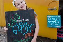 Boho Chic Gypsy Hippie