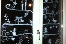 Chalk marker window