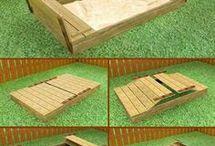 Ideias - caixa de areia Pedro