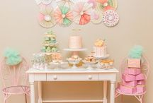 Springtime to Party / Spring is the theme and these are great party ideas for the season.
