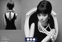 Lookbook MOY Paris SS17 / Cotton pearl necklaces of MOY Paris
