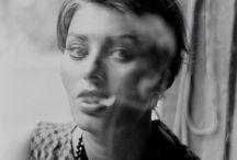 Smoking / Zwart wit foto's