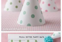 Fun and Free Party Printables / Fun DIY Party printables and crafts to make!