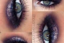 makeup,eyes,foundation & lips