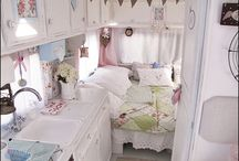 Girls on the fly traveling in their travel trailers, (travel trailers - motorhomes remodels) / Glamorize your vintage travel trailer, remodel your RV, Motorhome or your 5th wheel...Life on the road. / by Barbara Fertig
