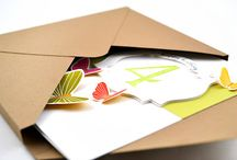 Cards ~ Envelopes  / by Kathryn Gibson