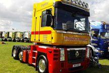 T RENAULT TRUCKS MAGNUM / Trucks of the French brand RENAULT,MAGNUM range series.