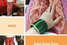 Celana Tenun Ethnic Indonesia