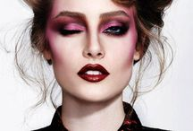 high fashion makeup