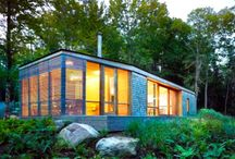 Dwellings We Love / Eco-friendly houses we'd live in for sure / by inhabitots