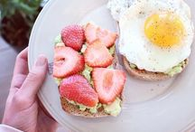 Breakfast Recipes / Breakfast is my favorite meal of the day, and this is a collection of photos to inspire not only the meal I choose but how I start my morning.