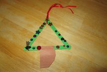 Class  made ornaments
