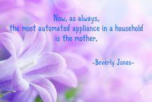 Mother's Quote / Kata Mutiara Untuk Ibu