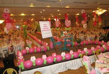 Stage or Runway Balloon Decor