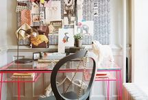 Home Office Ideas / WAHM work station inspirations!