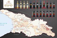 Georgia - wine regions