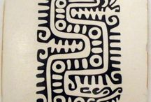 Dibujo azteca