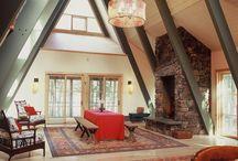 Houses interiors