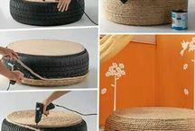 Nápady na DIY nabytok