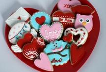 Cookies - Valentines / Love / by Tara Breitner Lethbridge
