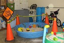 Party / Playdate themed ideas - Construction