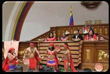"""521 años de Resistencia Indígena en América Latina  / En octubre de 2002 se formaliza en Venezuela la propuesta de Hugo Chávez de reconocer el 12 de octubre como """"Día de la resistencia indígena""""."""