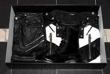 Biker Leather Look